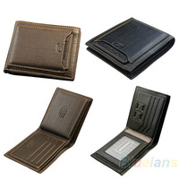 genuine leather Wallet High Quality Men Cow Leather Bifold Wallet Credit Card Holder Slim Purse NEW