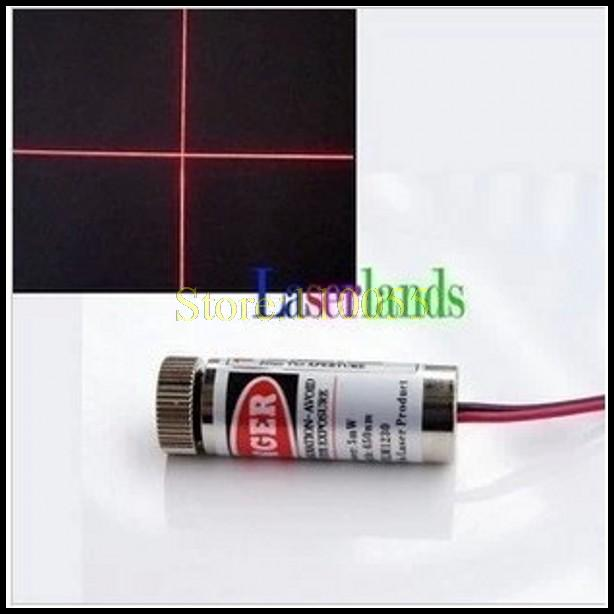 2pcs 650nm 5mW Red Laser Line Module Glass Lens Focusable Industrial Class(China (Mainland))