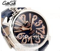 Gaga milano watch needle unisex the trend of fashion manual chain mechanical mens watch ladies watch