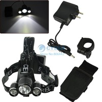 Hot Sell!! 1800 Lumen High Power T6-XPE Rechargeable Cycling Bicycle Lamp Head Lamp Bike Light 10454