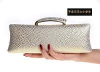 100% New Evening Bag Solid Color PVC Hard Box Clutch Evening Bag Rhinestones Shiny Acrylic Handbag with Chain 8 Color M1802L