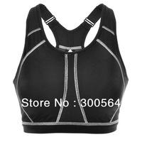 Brand New Sports Bra Full Cup Size B C D E F Cup Active Bra Keep Healthy Adjusted-Straps Back Bra  WSB913