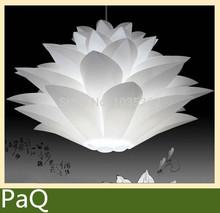 Lily flowers lamp  PVC material 48CM shape DIY pendant lamp bedroom light fixture both hanging pendant(China (Mainland))