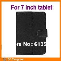 Universal tablet Leather Flip case for 7 inch Tablet PC  Cover Case