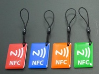 Free shipping(4pcs) Universal NFC Smart Tags Ntag203 Card for Sony Xperia/Samsung Note3 S4/Nokia Lumia 920/Nexus 4/10 Oppo