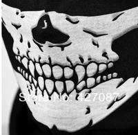 Free shipping 1 pcs Skull Design Multi Function Bandana Ski Sport Motorcycle Biker Scarf Face Mask Sport mask