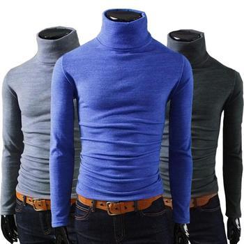никакой прибыли 2014 муёчин зимой пуловеры свитер водолазка тепловой несколькими вариант цвета твердым мягкий и теплый mtl088 бесплатная доставка