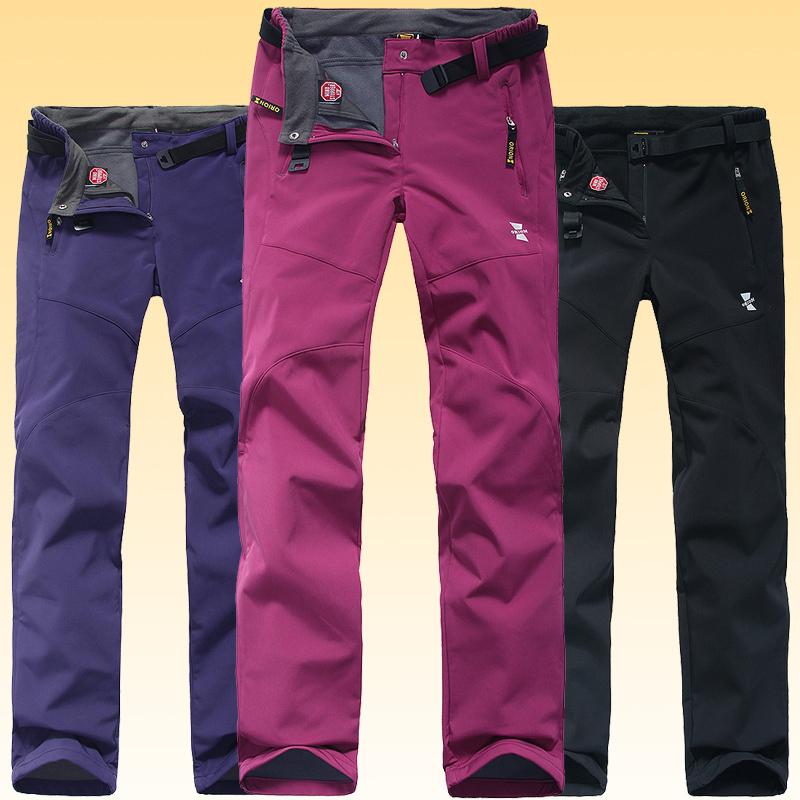 Sportivi all'aperto donne mutanda impermeabile wind stopper pantaloni pantaloni pantaloni outdoor soft shell per escursionismo campeggio arrampicata sportiva