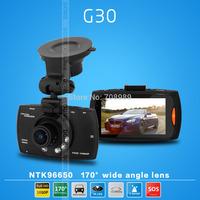 NTK96650 G30 Car DVR 1080P Full HD 30FPS Camera 170 Degree Wide Angle 2.7 LTPS+G-sensor H.264 HDMI Video Recorder Dash Cam