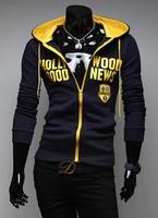 Hot hoodies for men diamond supply co splicing color hoodies clothing men alphabet logo  hoodies and sweatshirt  free shipping