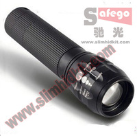 1pcs high power hunting led flashlighting led flashlights Zoomable LED head Flashlight Torch light outdoor lighting