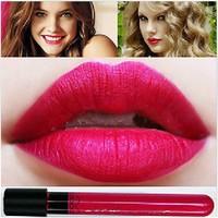 New Arrival Waterproof Glamorous Hot Pink Color Lipstick matte inferior smooth liquid velvet lipgloss Long Lasting Lip Makeup