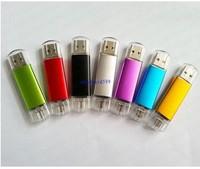 New Smart Phone USB Flash Drives pen drives OTG external storage micro usb memory free shipping