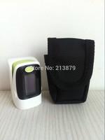 Home Care*+Carrier Case OLED Alarm Setting Beep Sound Waveform Pulse Oximeter Blood Oxygen Monitor 5 Colors SPO2 PR Heart Beat