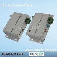 Wholesale Receiver Twisted pair 1 channel Active UTP Balun Video Balun Receiver  via CAT5 ,DS-UA0112B(T+R)