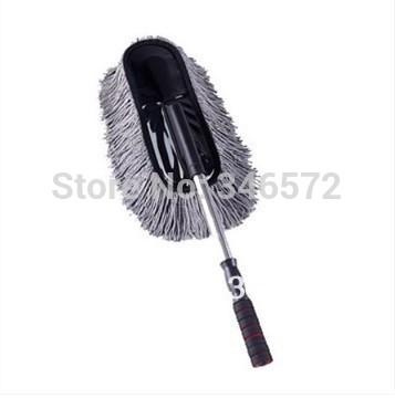 Car brush wax drag retractable car mop wash mop cleaning supplies(China (Mainland))
