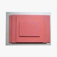 38*38*8cm Silicone foam sheet silicone sponge pad high temperature silicone pad silicone plate for heat press machine