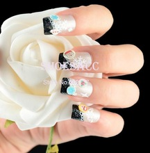 popular christmas nail art design