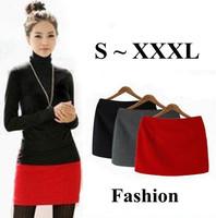 2014 S - XXXL Short Skirts for Women Woolen Mini Skirt Slim Hip Autumn and Winter Skirts Plus Size  8 Colors