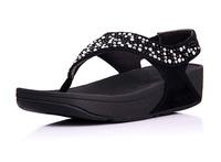 Fashion Brand Womens Bling Platform Flat Flip Flops Sandals Comfortable Rokkit Seisei Leisure Beach Sandals On Sale