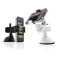 1pcs Universal Car Holder Windshield Mount Stand Bracket for iPhone GPS Phone SAMSUNG