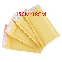 "Free Shipping Kraft Bubble Mailers Padded Envelopes Bags 150*180 5.9""x7"" 50PCS/Lot"