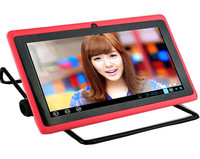 "7"" Tablet PC Duo core pink HDMI Dual Cameras 4GB balack white red blue"