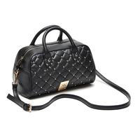 Fashion kk mantianxing delicate rivet dimond plaid handbag one shoulder cross-body women's handbag