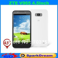 ZTE V965 Phone With MTK6589 Android 4.1 Quad Core 3G GPS OTG 4.5 Inch Multi-Language SmartPhone