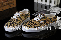 2013 High Quality Leopard Print Zebra Pattern Sneakers For Womens Brand name Casual Sportswear Canvas Shoes Size 35--39