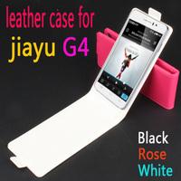 JIAYU G4 Vertical  Flip case for jiayu g4 smart  phone
