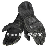 Top GUA. FULL carbon fiber titanium alloy titanium alloy METAL RS all cowhide top racing gloves