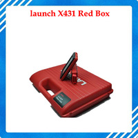 Hottest Auto scanner 2014 Latest Version Free Update Launch X431 Diagun Red Box With Bluetooth