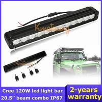 12V/24V Cree Led Work light Bar Truck Wagon SUV 4WD Flood Spot Beam Combo ATV  Van Camper 4x4 UTV 120W led headlight AWD