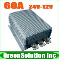Free Shipping Step-down DC 24V to DC 12V 60A Power Converter 720W Voltage Regulator