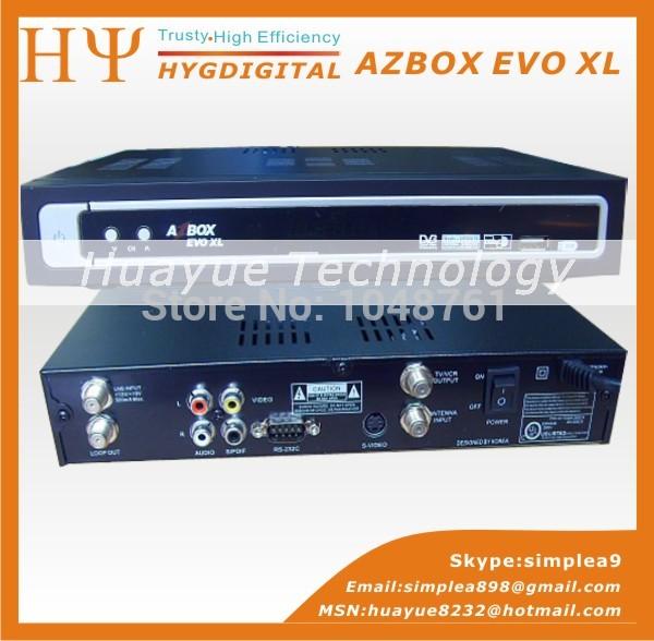 AZBOX EVO XL, South America AZBOX EVO XL USB Satellite TV Receiver 2015 hot sell(China (Mainland))