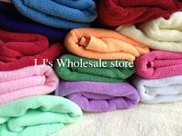 14PCS/LOT 54g/pcs wholesale Microfiber Towel Fiber Hand Towel Hair Towel face towel  hotel towels30*60cm