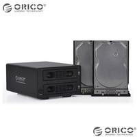 ORICO 3529NAS dual Bay SATA RAID RJ-45 USB 3.0 Network LAN Storage BT Download Nas Ftp Samba Print Server BT CLIENT Support 6TB