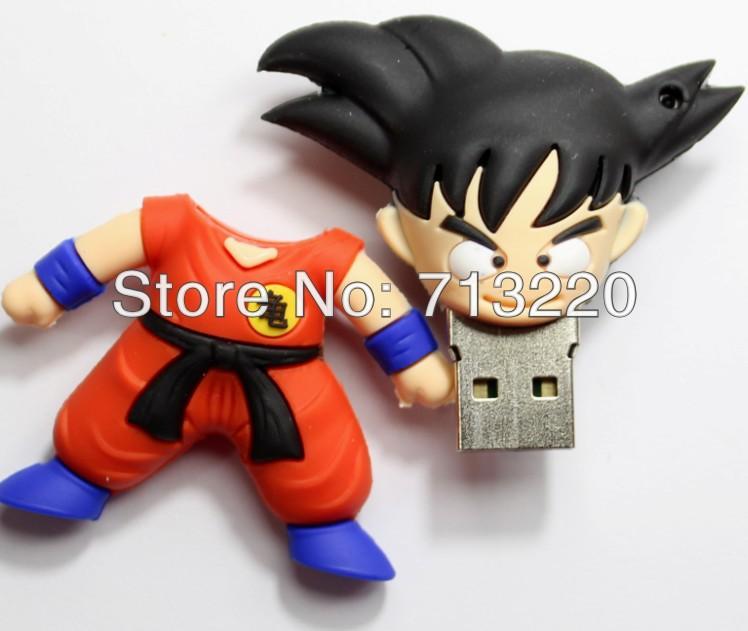 Genuine True Capacity! NO Upgrade! wushu fighting carton design 2GB 4GB 8GB 16GB 32GB carton USB Flash Drive!!(China (Mainland))