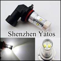 2pcs High Power H11 LED Fog 30W CREE Xenon White Light Driving Headlight Daytime Running DRL Bulb