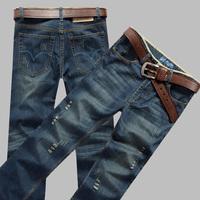 Men straight jeans 2013New Arrival Free Shipping,Men's Brand Jeans,Hot sale, Original Famous Brand Denim Jeans