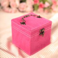 Pantocrine leather vintage jewelry box 3  jewel case