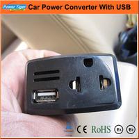 Car Power Inverter Car Cigarette Lighter Socket  DC12V TO AC 220V Adapter Converter Car Charger With USB