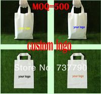 25x35cm custom shopping handle plastic gift bag/plastic packaging bag for garment/printed LOGO promotion bag