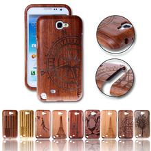 Luxury Laser Wood & Bamboo Case