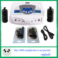 High quality dual system Ion Cleanse with MP3, cell detox / negative ion foot bath / spa detox,Double music ion cell detox