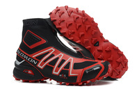 New arrival Salomon snowcross men running shoes warm sneakers wholesale sports shoes size 40-46