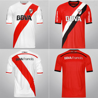 2014 2015 River Plate home away soccer jersey bsst thai quality River Plate 14 15 football uniforms t shirts customize name