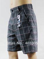 NEW Fashion 4Way Stretch Bermuda Shorts Men's Gray Surf Board Shorts 30 32 34 36 38 Swim Trunks Suit Pants BNWT Free Shipping
