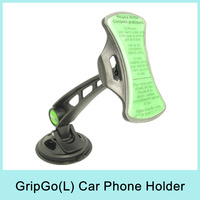 GripGo Universal Car Holder Stand Mount for Mobile Phone/GPS/MP4/PDA for iPhone Smatphone MP4 GPS As Seen On TV Drop shipping